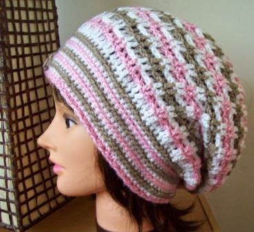 free crochet beret hat patterns