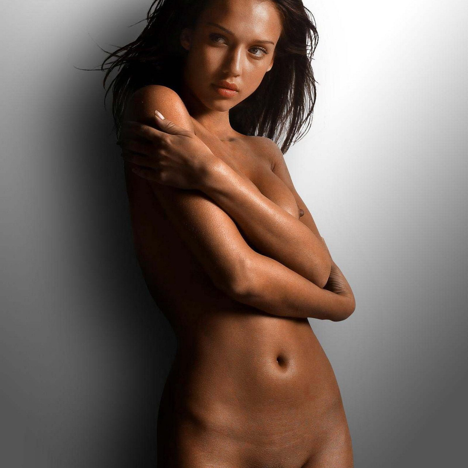 Natural and hairy black women