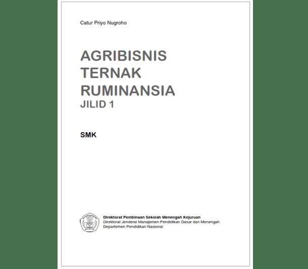 Buku SMK Agroindustri Agribisnis Ternak Ruminansia