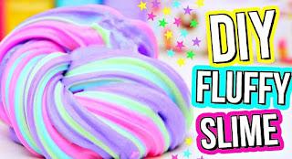 Cara Membuat Fluffy slime