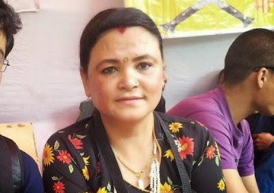 Bimal wife Asha Gurung