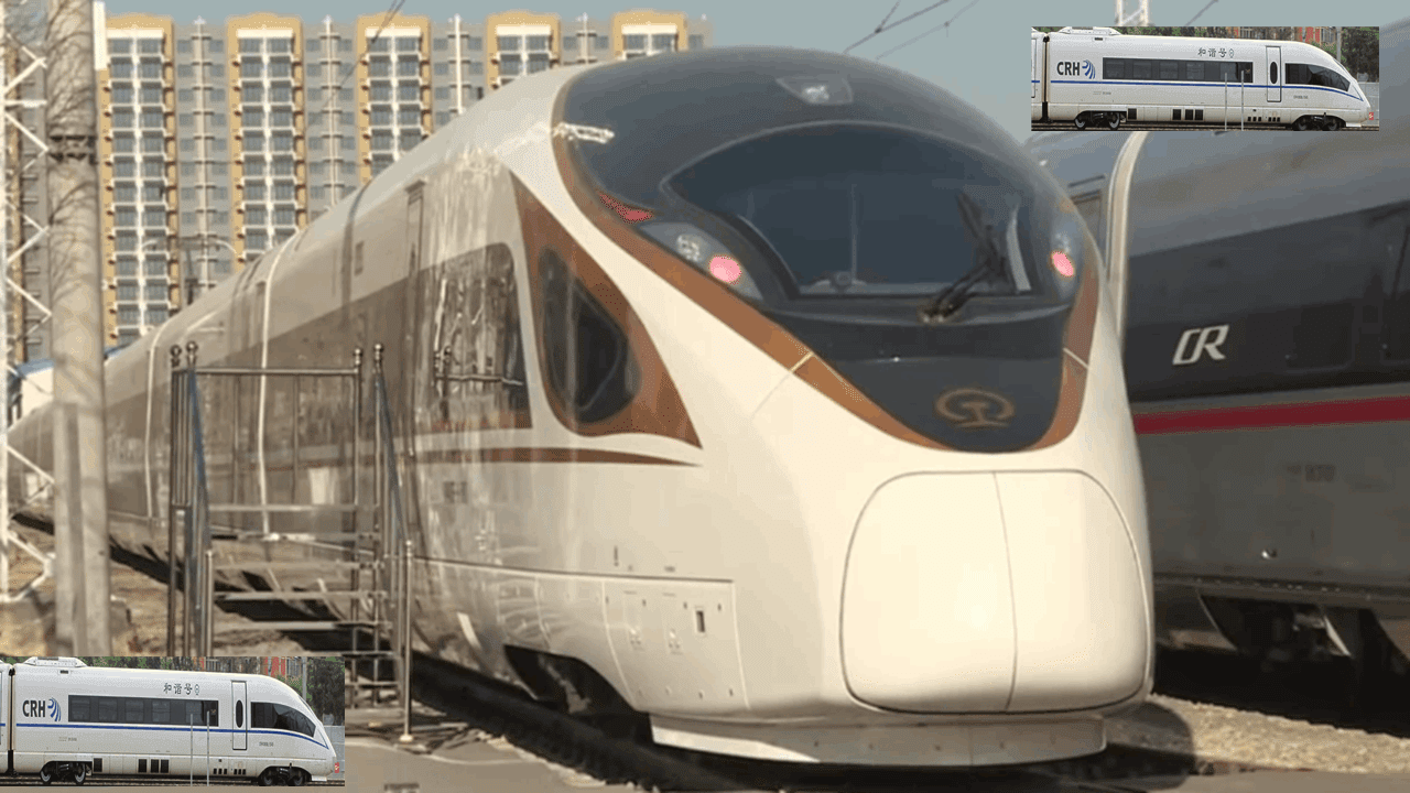 high-speed railways: new chinese fastest bullet train