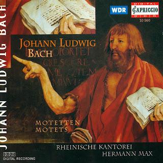 Johann Ludwig Bach: Motets / Motetten
