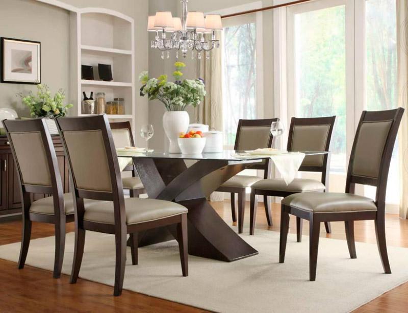 Decoracion Moderna Como Escoger La Mesa De Comedor Ideal - Decoraciones-de-mesas-de-comedor