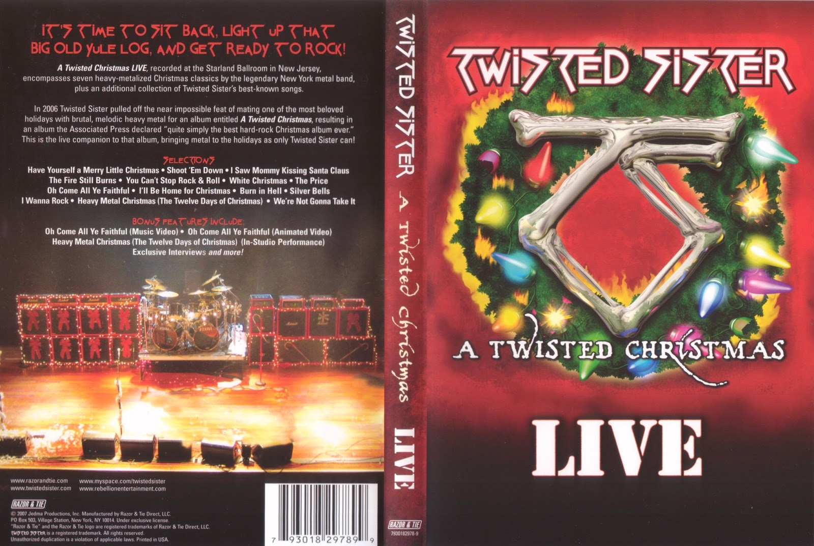 Twisted Sister Christmas.House Of Rock Lounge Twisted Sister A Twisted Christmas Live