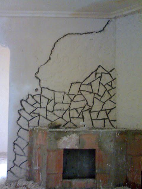 cheminée plâtre