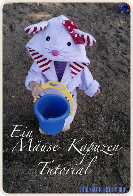 Kinder Bademantel, Maus Kapuze, Katzen Kapuze, free Tutorial, Nähanleitung, Vorlage, Näh-Blogger Themenwoche Urlaub mit Kindern, Schweden, Sommer, See,