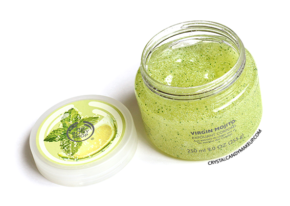 The Body Shop Virgin Mojito Collection Review Body Scrub