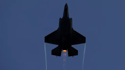 Israel Launched World's First Air Strike Using F-35 Stealth Fighters.