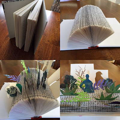 upcycling an old book