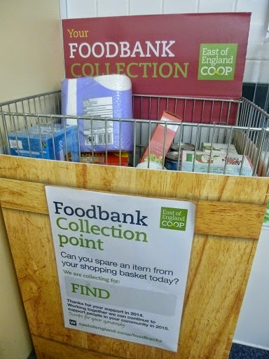 Why I donated to a food bank the day after the election