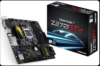 Lineup Motherboard BIOSTAR RACING Z270 Series