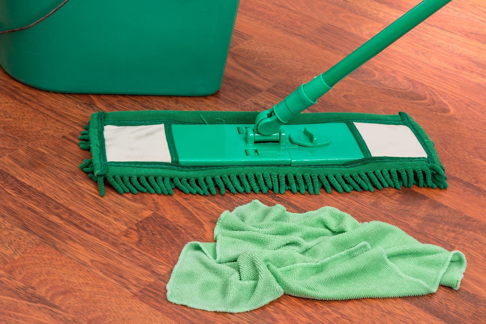 Domowe środki, które ułatwią sprzątanie.