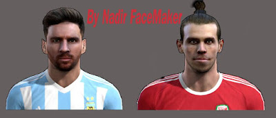 PES 2013 NEW INTERNATIONAL MINI-FACEPACK by Nadir FaceMaker