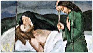 Via Sacra 14 'Jesus é Sepultado', na Capilla Hotel de Villavicencio