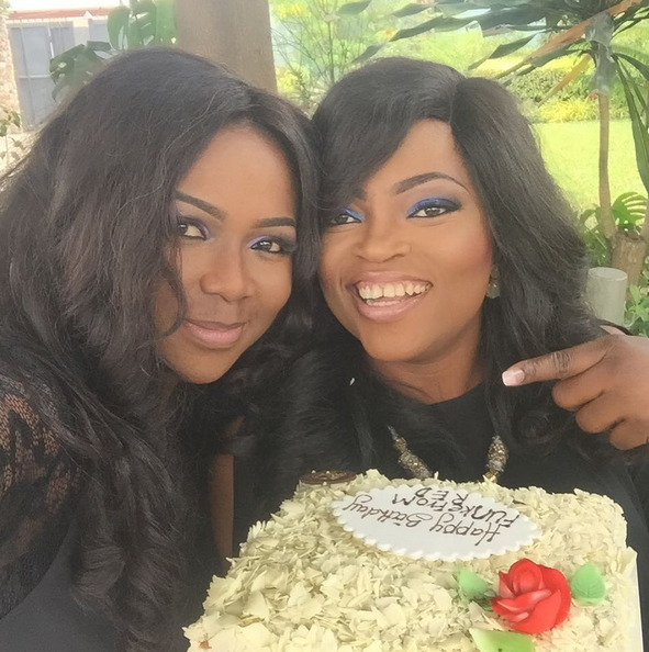 funke akindele 39th birthday party