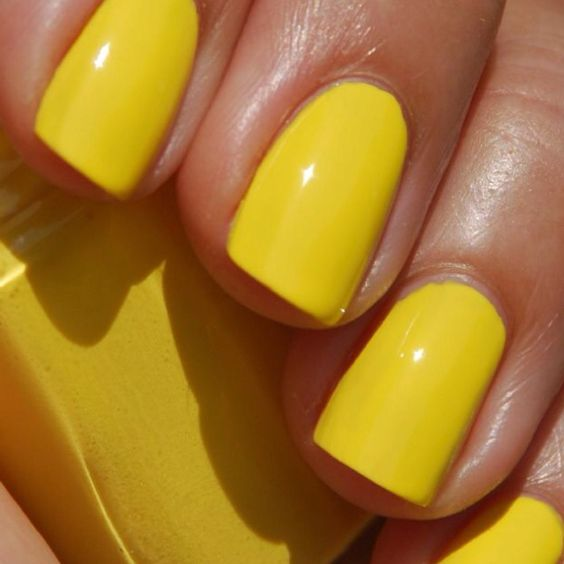 Yellow Nail Polish Toenails: Anima Outfit E Peperoncino: Smalti Per La Primavera