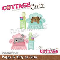 http://www.scrappingcottage.com/cottagecutzpuppyandkittyonchair.aspx