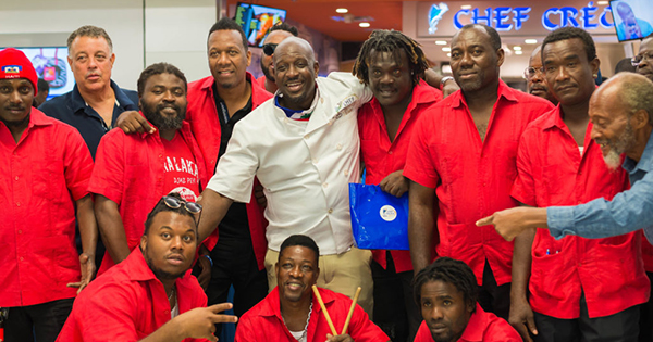 Chef Creole's grand opening at Miami's International Airport
