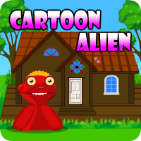 AvmGames Cartoon Alien Escape Walkthrough