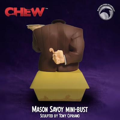 CHEW Mason Savoy Mini Bust by Skelton Crew Studio x John Layman x Rob Guillory