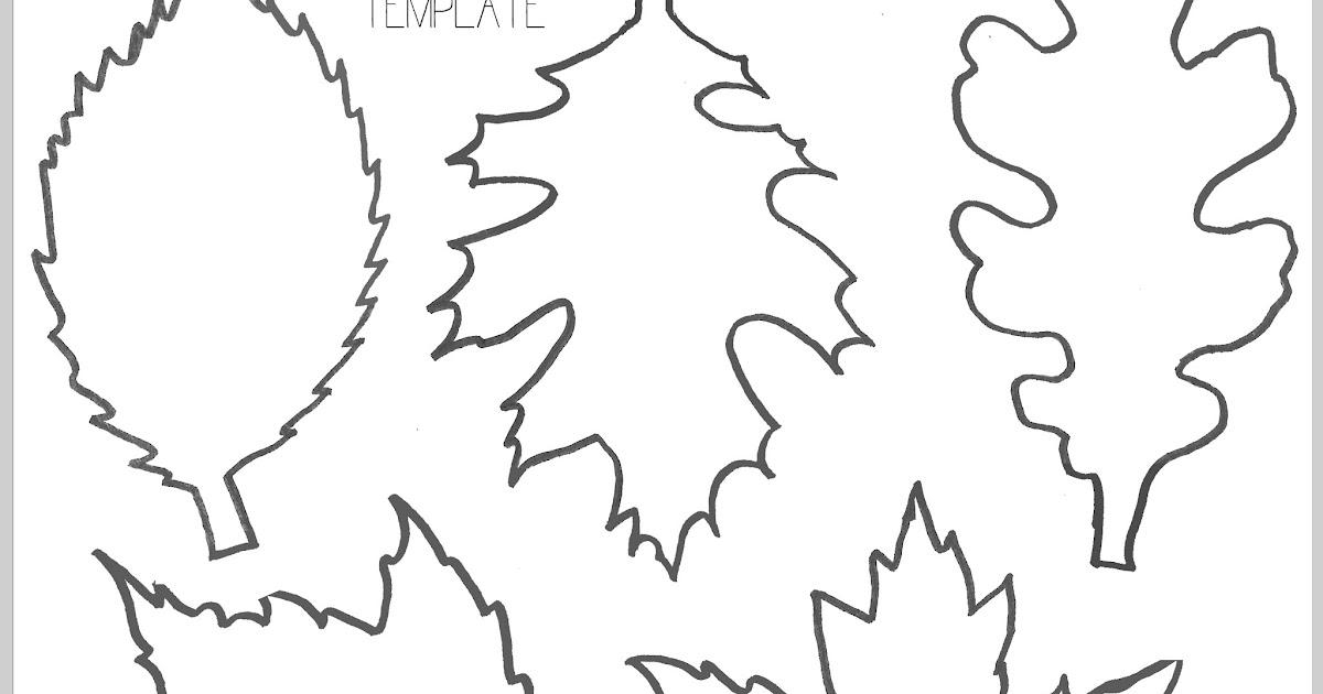 Printable Leaf Template Suyhi Margarethaydon Com