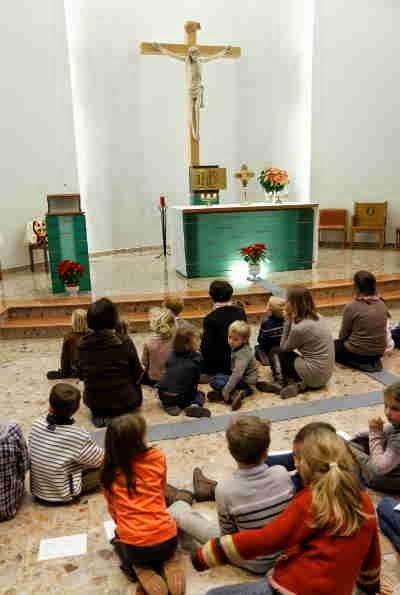 Carmes Déchaux Carmel Province Avignon-Aquitaine enfants adorateurs