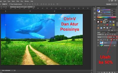 Cara Menggabungkan Gambar Menjadi Satu Dengan Photoshop 3