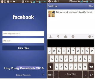 Tải ứng dụng facebook tiếng việt