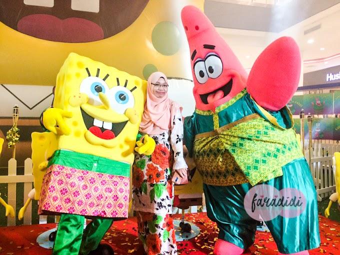 Wordless Wednesday: Meet & Greet Bersama Spongebob & Patrick!
