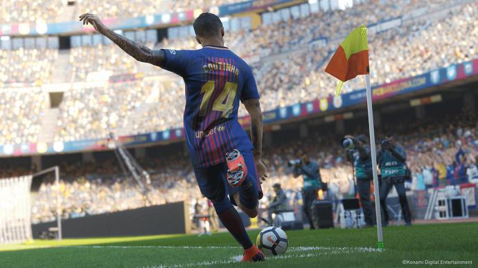فيديو جديد ورائع جدا من اللعبة المنتظرة لعبة Pro Evolution Soccer 2019 | بيس 2019