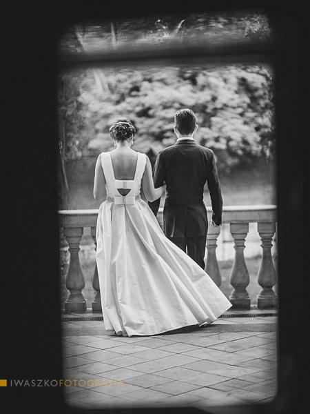 Zdjęcia ślubne Kraków Sesja plenerowa Willa Decjusza