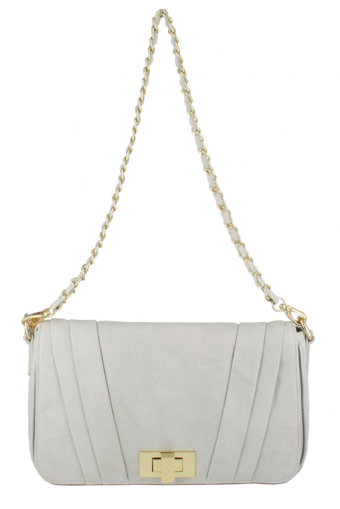 "Cartera ""The Gatsby"" en Gris Artico by Lamb"