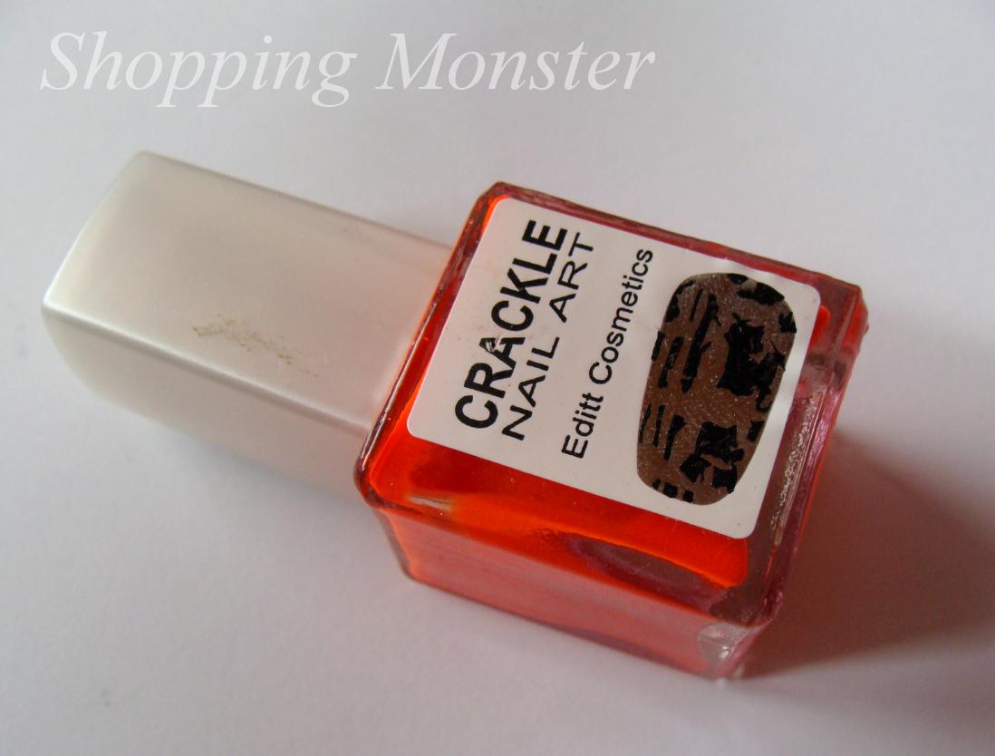 Zakupowe Bestie: Editt Cosmetics Crackle Nail Art - pękający