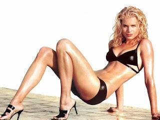 Rebecca Romijn Black Bikini 2