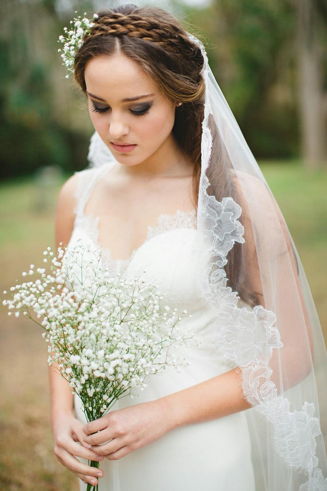 Прически невесты с фатой на длинные, средние и короткие