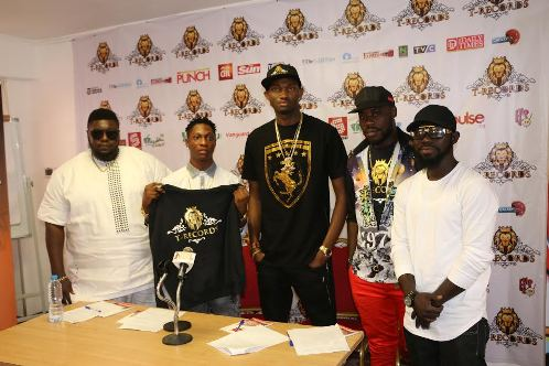 T-records officially signs D'Tac (Photos)