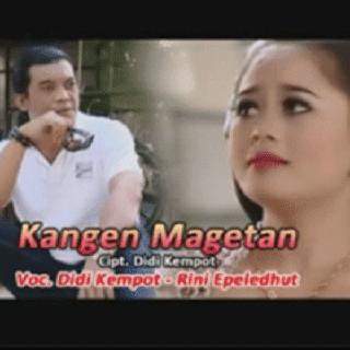Lirik Lagu Kangen Magetan - Didi Kempot