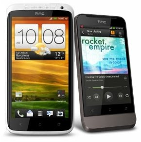 HTC One X and HTC One V