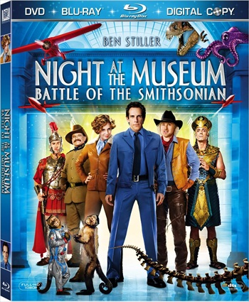 Free Download Night At The Museum – Battle Of The Smithsonian 2009 Dual Audio Hindi  BluRay 300mb