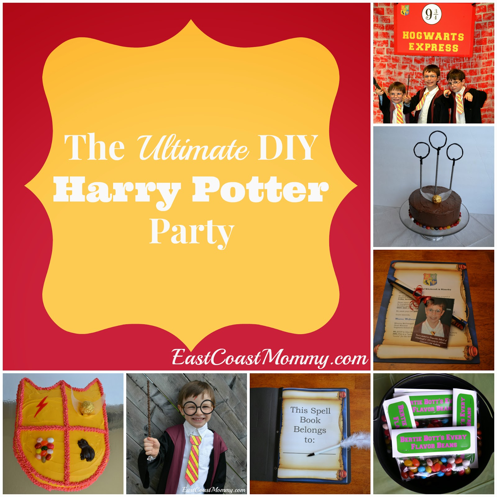 East Coast Mommy: The Ultimate DIY Harry Potter Party