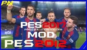 PES 2012 Mod Updated 2017 Apk