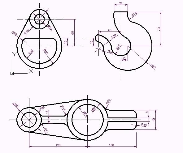 DRAWING. isabellvalero.: AutoCAD exercises. (Training course)