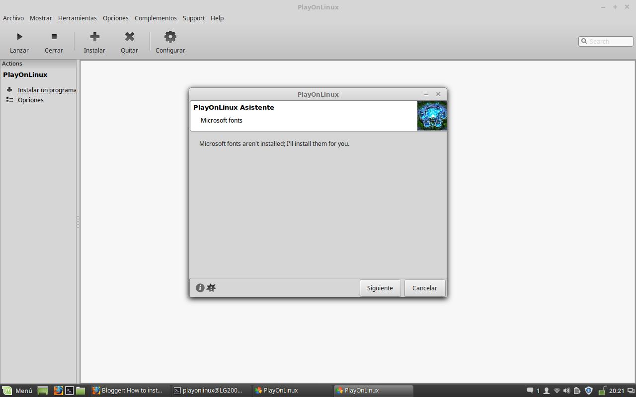 New League of Legends Client - Skript - PlayOnLinux - Run