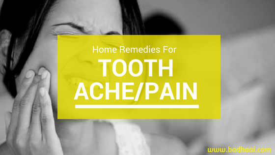 Home Remedies For Curing Tooth Ache Fast Naturally