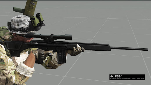 Arma3用NIArms G3 Rifles MOD