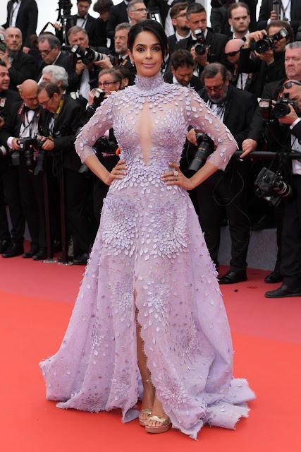 Mallika Sherawat – 'Sorry Angel' Premiere at 2018 Cannes Film Festival