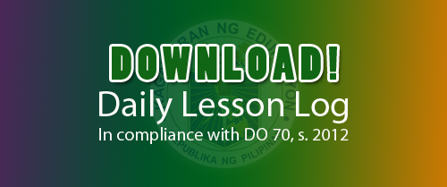 [Ready Made] Daily Lesson Log | Daily Lesson Plan