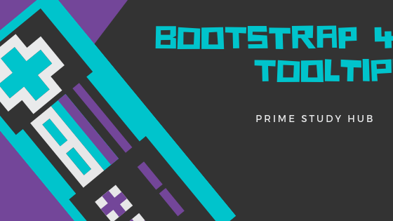 Bootstrap 4 Tooltips