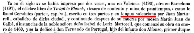 Pascual de Gayangos; Libros de caballerías, 1857